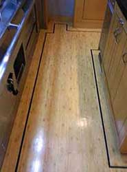 Yacht Galley Vinyl Installation