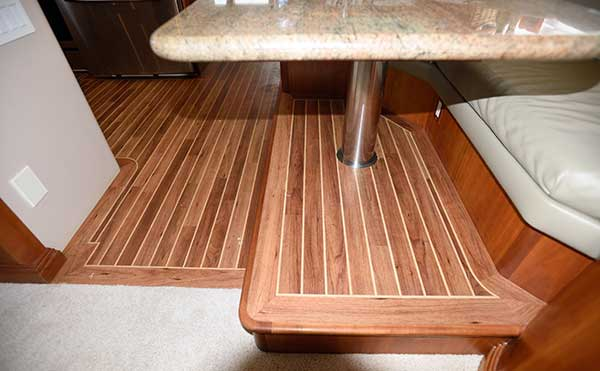 Yacht Vinyl Flooring Installation After